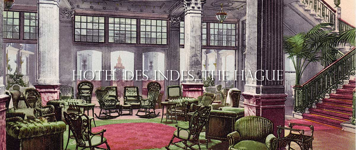 Hotel Des Indes, The Hague